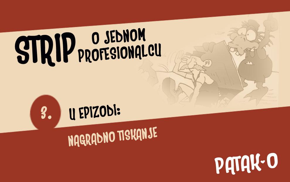 Patak-O strip, ep. 3.