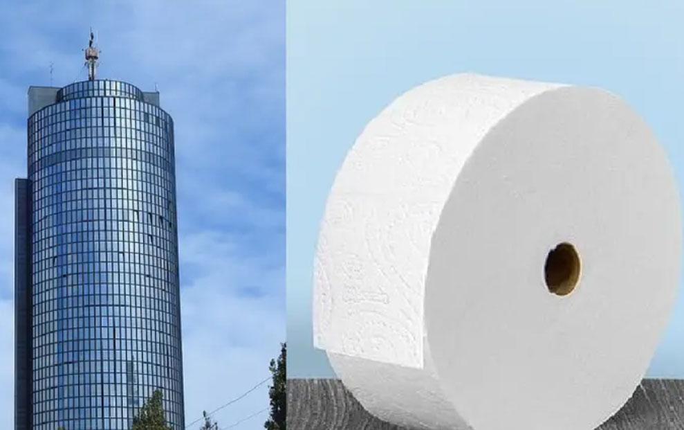 Proizveli super-rolu WC papira dugu kao dva Cibonina tornja